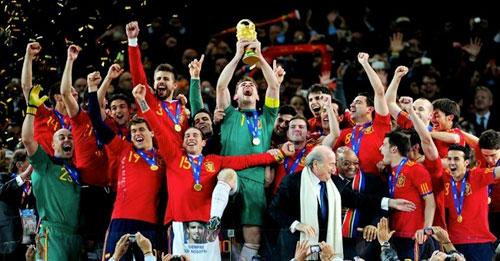 Espanha campeã do mundo Copa Fifa 2010 futebol