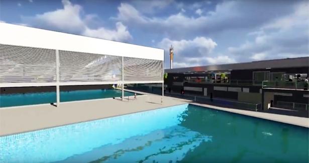 Imagem 3D mostra como ficará a Arena com as três fases concluídas