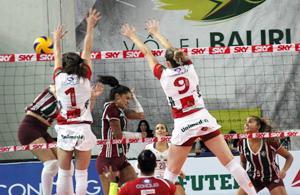 Vôlei Bauru vence Fluminense pela Superliga e5e74720ab397