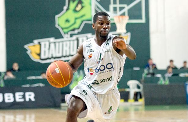 Anthony: 19 pontos de média até aqui. Foto: Victor Lira/Bauru Basket (foto Demétrius: João Pires/LNB)
