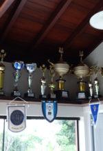 Sala de troféus já está pequena para as conquistas da ABDA. Foto: Fernando Beagá/Canhota 10