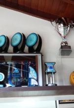 Sala de troféus da ABDA. Foto: Fernando Beagá/Canhota 10