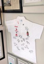 Camisa da seleção húngara de polo aquático: visita marcante a Bauru. Foto: Fernando Beagá/Canhota 10