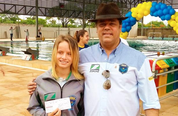 Tatiana Moraes e Cláudio Zopone