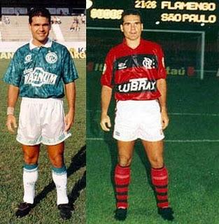 Edu Lima jogador futebol Craque 90 Guarani Flamengo Inter