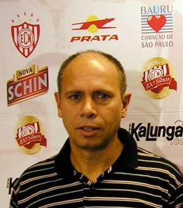 Ricardo Occhiuto gerente de futebol do Noroeste Copa Paulista futebol 2010