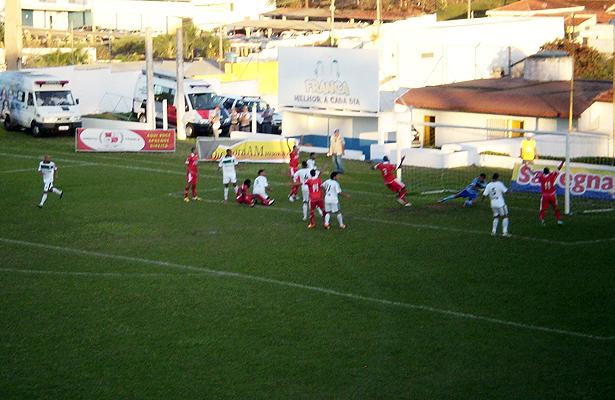 Lance do gol noroestino. Foto: Cristiani Simão/Jornada Esportiva