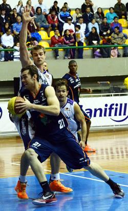 Murilaço: grande partida. Foto: Caio Casagrande/Bauru Basket