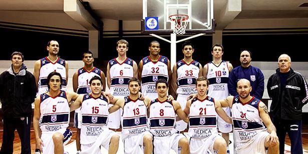 O elenco uruguaio para a temporada 2013/2014. Foto: Reprodução site oficial