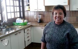 Tia Marilda, pura simpatia, bota gerência na cozinha