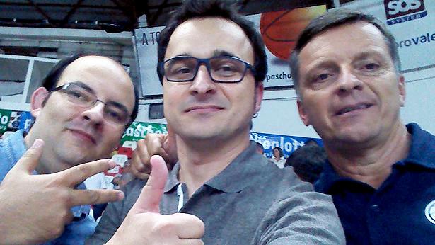 Gerson Junior, eu e Miguel. Valeu!