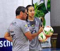Experiência do técnico Chico dos Santos pesou na escolha. Foto: Fábio Barbosa/Vôlei Bauru