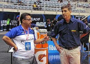 Com o amigo Jorge Guerra. Foto: Thiago Navarro/Jornal da Cidade