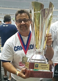 Campeão das Américas, um dos maiores times da história do basquete brasileiro. Ponto. Foto: Henrique Costa/Bauru Basket