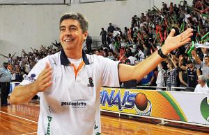 Festa no avanço à semifinal do NBB5. Foto: Caio Casagrande/Bauru BAsket