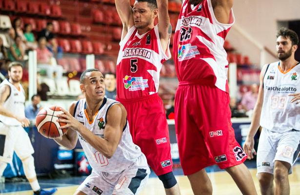 O menino Gui Santos aproveitou bem seus minutos. Foto:  Caio Casagrande/Bauru Basket
