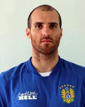 Roberto com a camisa do Nacional do Amazonas: atleta consta no elenco
