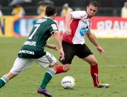Pelo Ituano, em partida contra o Palmeiras, no Alfredão. Foto: Divulgacão/Ituano