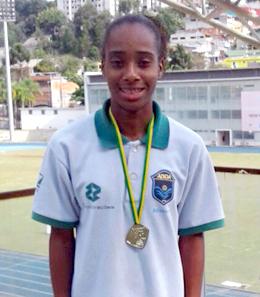 Jeovana: campeã paulista sub-20 nos 5.000m. Fotos: Divulgação