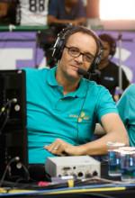 Marcel: feliz da vida como comentarista. Fotos: Luiz Pires/LNB