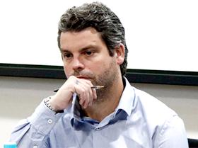 O presidente noroestino Estevan Pegoraro esteve no Conselho Técnico