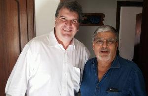 O prefeito Gazzetta e o deputado estadual Pedro Tobias: a cidade aguarda