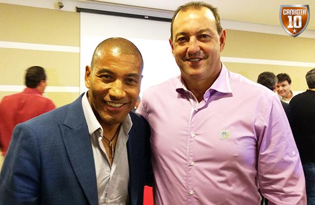 Mauro Silva e Vitor Hugo