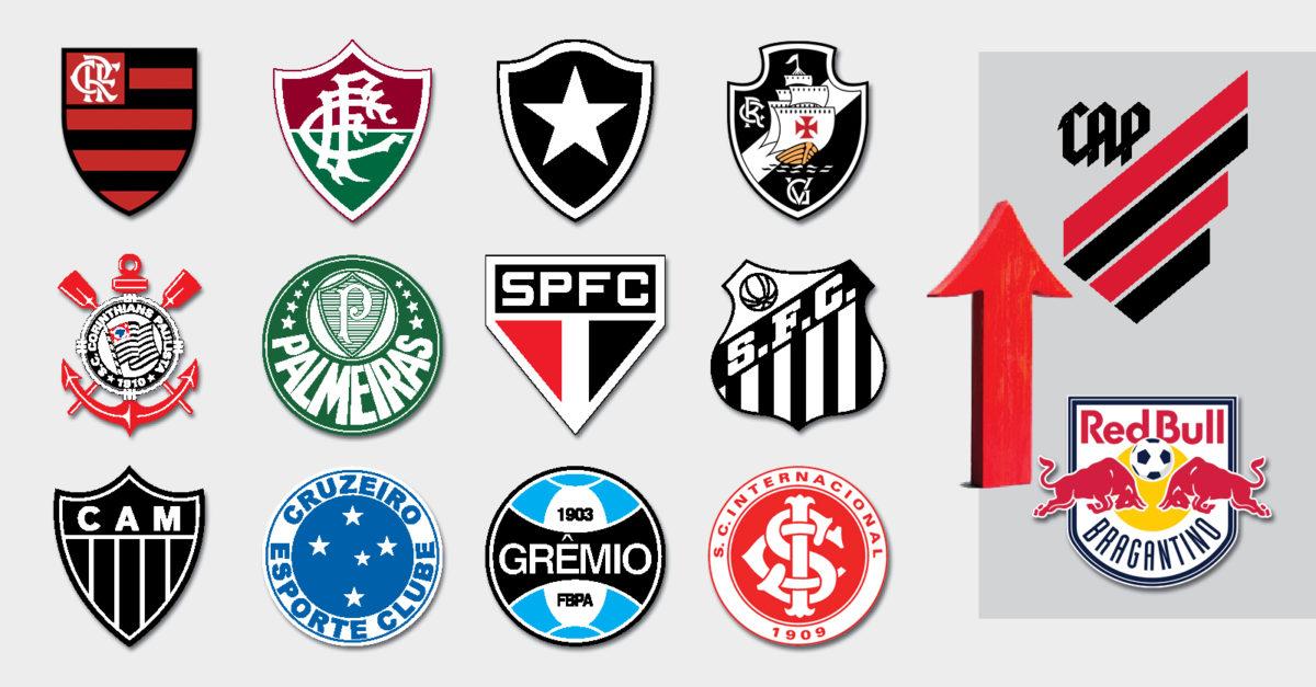 12 gigantes do futebol brasileiro