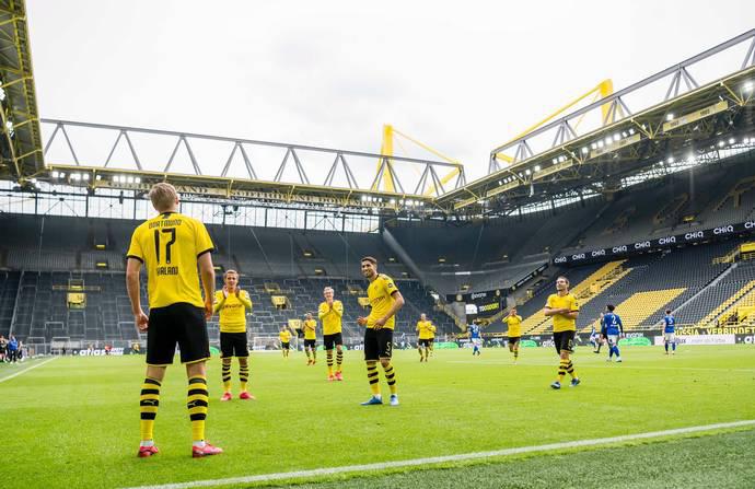 Bundesliga: vitória do Dortmund sobre o Schalke 04