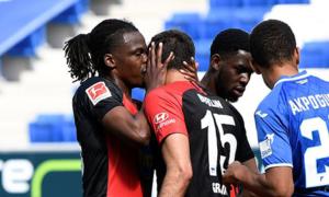 O Hertha ganhou o troféu aglomeração da rodada na Bundesliga